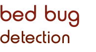 bed bug detection