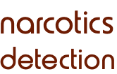 narcotics detection